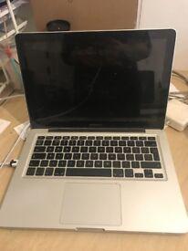 Macbook Mac Pro 13 inch 2010 - 2011 apple laptop Intel 2.4ghz processor in full working order
