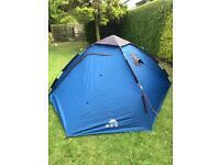 Trespass rapid pop up 4 man tent