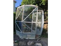 Greenhouse, octagonal 1.85m across