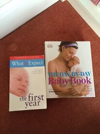 First year baby books