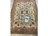Amazing old antique vintage Persian / Indian carpet / rug