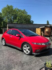 Honda Civic 2.2 i-CTDi Type S GT 3dr | Great condition | 79,500 miles