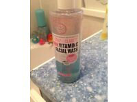 Soap and glory facial wash