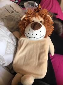 Hot water bottle little lion£3 buyers to collect. Good quality. Gooda gooda