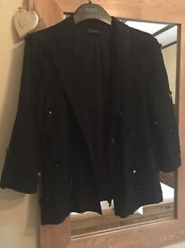 Ladies next signature black blazer . Size 6.