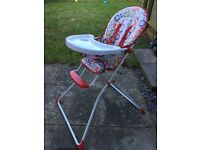 High chair for free