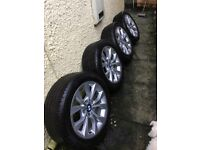 Original BMW X1 E84 17-Inch Set of Alloys Styling 318 with Tyres