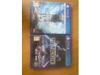 PlayStation PS4 Battlefront games