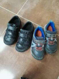 Boys clarks school casual shoes 11 and 11.5 g