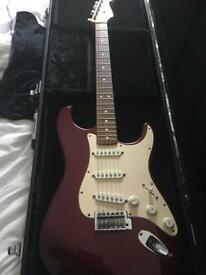 Fender 2001 Strat with case and upgrades MIM