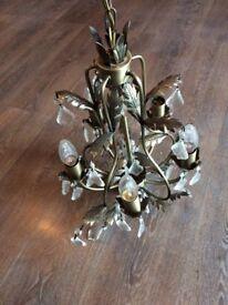 Gold Chandelier lights
