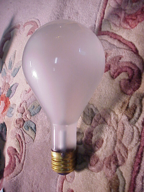 General Electric ECV  Frosted Photoflood 1000W  | 120V | NOS |Top Quality