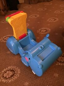 Vintage Fisher Price Gobble N Go Hippo. For Ages 9 months +.