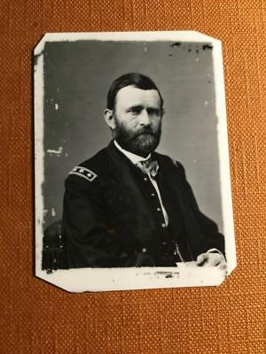 Ulysses S Grant Historical reproduction Museum Quality tintype C1126RP