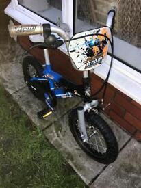 "ACTION MAN BIKE, 12"" WHEELS, GOOD USED CONDITION, new stabilisers available £5"