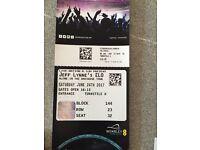 Fabulous Tickets for sale Jeff Lynne ELO