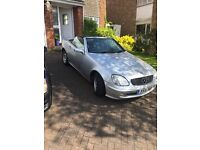 mercedes slk 200 kompressor in beautiful condition one lady owner