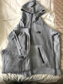 North Face tracksuit size small mens