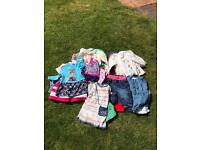 Selection of girls clothes age 3-6