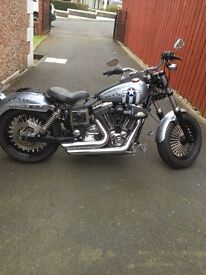 Harley davidson FXDL 1450 anniversary model highly customised