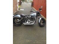 Harley davidson FXDL 1450 anniversary model highly customised