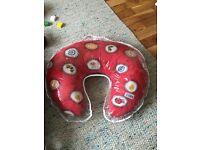 Nursing pillow (Brand- Widgey-Red Fossil)