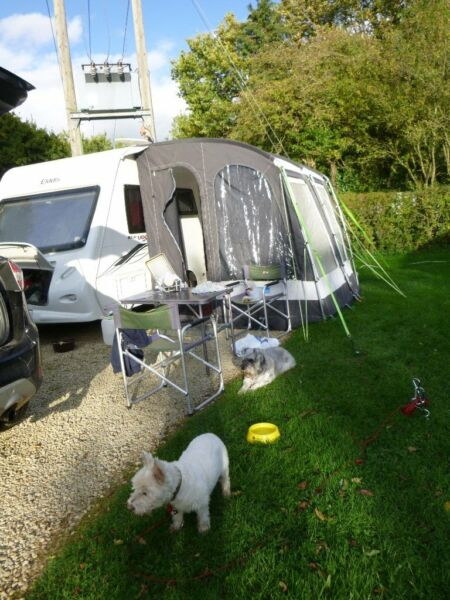 Kampa Rally pro 260 caravan awning great condition for sale  Swindon, Wiltshire