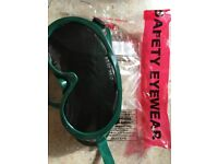 safety gas welding goggles, never used , brand new ans unopened