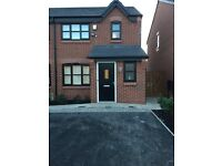 3 bedroom semi detached property on boarders of Monton