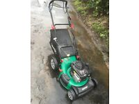 "20"" qualcast powerdrive lawn mower"