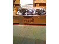 Lincoln town car limo headlight off side