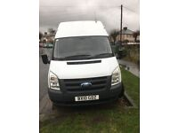 2010transit t350 2.4 diesel lwb hightop just come of long term lease CHOICE OF TWO CALL FOR PRICES