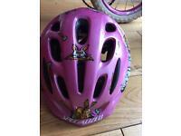 Toddler Specialized Cycling Helmet plus bike