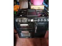 Leisure CTMF95 90cm wide duel fuel range style cooker (REDUCED)