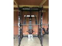 NordicTrack E8200 Competition series gym/weights machine