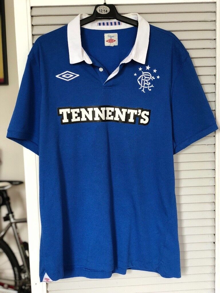 best service 4ff18 7bbb2 Signed Rangers FC top (Ally McCoist)   in Maryhill, Glasgow   Gumtree