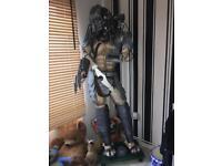 Full size predator model with lights