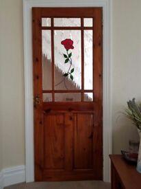 2 gorgeous detailed interior doors