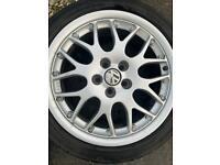 Alloy Wheels, BBS 16 INCH, VW, Audi, Skoda, Seat 5x100