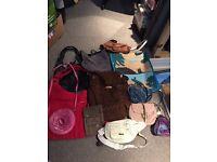 Joblot of handbags