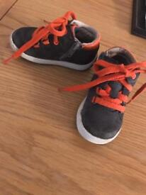 Clarks first shoes size 4.5 F