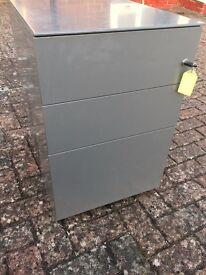 Office/ Home metal filing desk draw unit