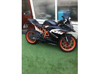 Ktm rc 125 on a 2016 plate