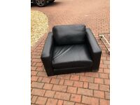 Large very comfy leather chair