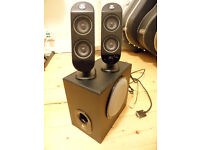 Logitech x230 PC speakers with sub