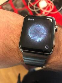 Apple Watch 42mm with stainless steel strap (£949 retail)