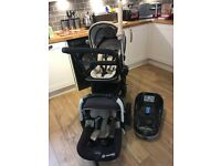 Immaculate Condition Concord Intense Neo travel System Including Isofix