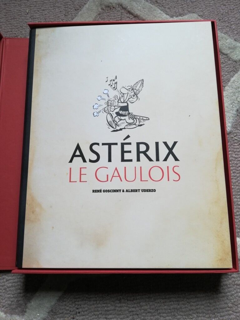 Extremely Rare limited edition Astérix le Gaulois art book / large coffee  table book | in Alva, Clackmannanshire | Gumtree