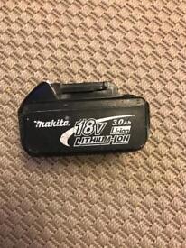 Makita 18V 3ah battery.
