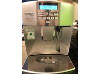 Delonghi Coffee Freestanding Fully-auto Cappuccino /Espresso machine Silver